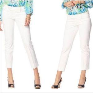 Lily Pulitzer white Capri pants